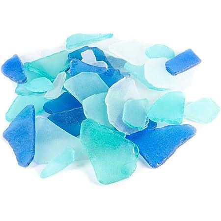 Deep Sea Aquatic Beach Server Cobalt Blue Fish Bowl Nautical Ocean Glass Dish Midnight Sky Blue Colorful Kitchen Decor