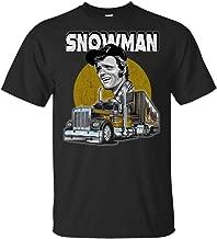 Jerry Reed Snowman Smokey and The Bandit Shirt,Black,X-Large