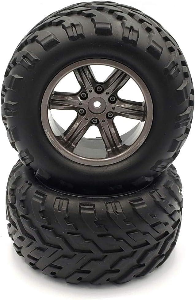 mart GDOOL 2PCS 15-ZJ01 RC Cars Tires fo Spare Wheels Colorado Springs Mall Accessory Parts