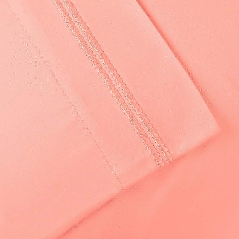 受け入れた体操選手保守的4ピース カジュアルスタイル キャンディピンク マイクロファイバーシーツセット クラシックで鮮やかなソリッドカラーデザイン しわ防止 キングシーツセット モダンルック ディープポケット 完全伸縮性 超ソフト 高級ベッドシーツ