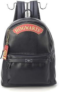 Mochila de Costas Harry Potter Hogwarts Preto - Luxcel