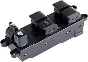Power Window Switch Front Left Driver Side Replacement fit for 1998-2001 Nissan Altima 1998-2004 Frontier 1998-1999 Sentra 2000-2004 Xterra Legacy Outback 2003-2006 Subaru Baja Replaces 25401-9E000