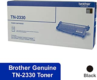 Black Printer Toner Cartridge TN-2330 Black Toner for Brother HL-L2300D, HL-L2340DW, HL-L2365DW, HL-L2380DW, MFC-L2700DW, MFC-L2703DW, MFC-L2720DW, MFC-L2740DW, Black, (TN-2330)