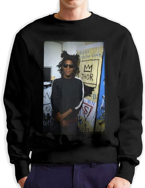 Autumn Winter Fashion OFFicial Men's 2021 new Round 3D Neck Sweater Printin Cotton