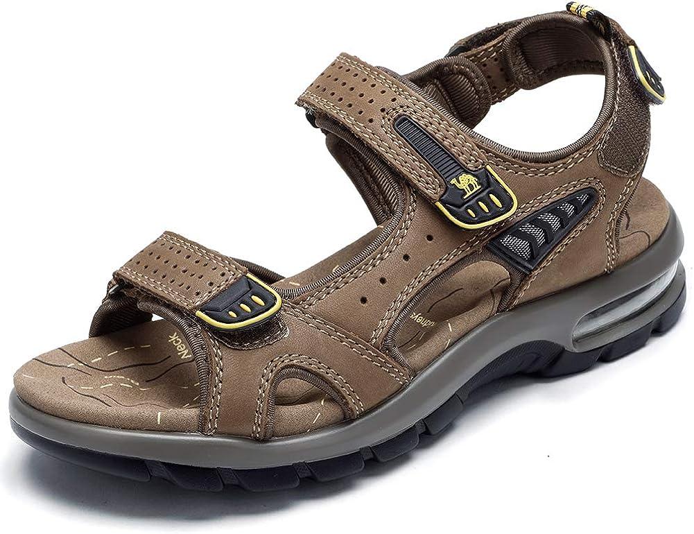 CAMEL 超目玉 Men's Sandals 希望者のみラッピング無料 Genuine Leather Casu Sport Open Toes