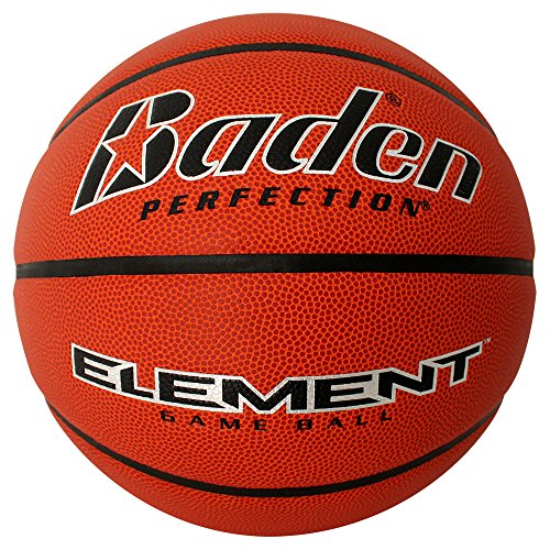 Best Prices! Baden Element Indoor Game Basketball, Intermediate, NFHS Approved