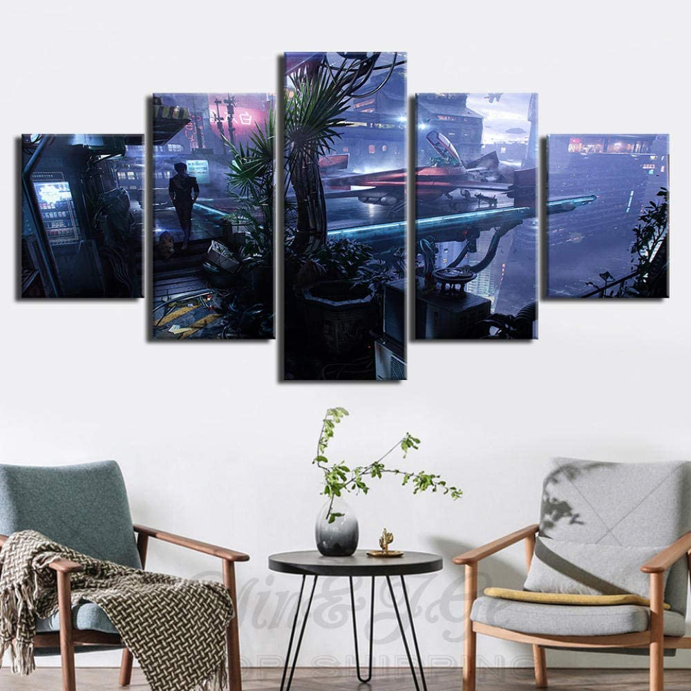 GCXBB Wall Art for Recommendation 5 shipfree Cowboy-Bebop-Fashion-Poster Bedroom Panels