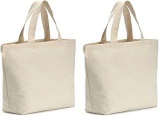Axe Sickle 2PCS Canvas Tote Bag Bottom Gusset 14.5 X 14.5 X 5 inch Heavy 12oz Tote Shopping Bag, Washable Grocery Tote Bag, Craft Canvas Bag with Handles, White.