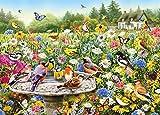 HAHJ Puzzles Rompecabezas Piezas de Rompecabezas para Adultos del Rompecabezas del jardín Secreto de Jibson, Juego de desafío para niños Adultos, 1500 Piezas