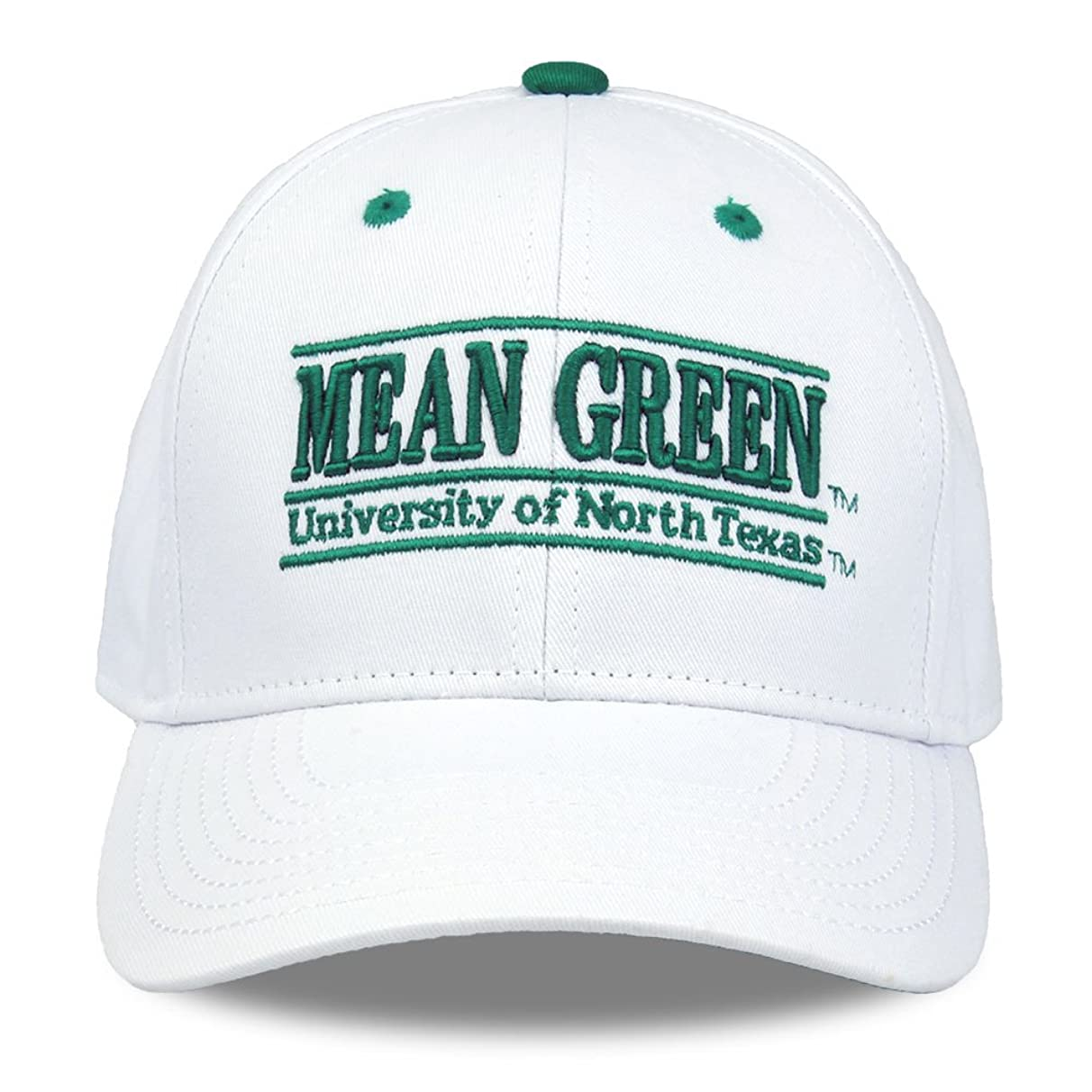 NCAA North Texas Mean Green Unisex NCAA The Game bar Design Hat, White, Adjustable