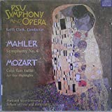 PSU Orchestra and Opera 1999 {Mahler Symphony No. 4 & Mozart Cosi Fan Tutte - Act One Highlights}