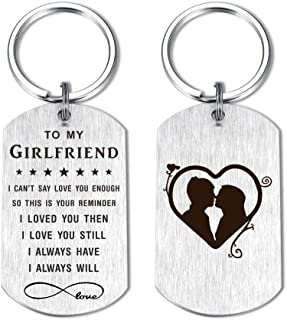 Women Keychain for Wife Girlfriend Fiancee Anniversary Birthday Gifts Idea for Her