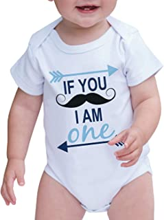 mustache first birthday outfit