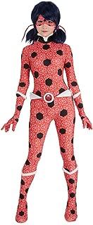 Women's Ice Lady Bug Suit Cosplay Costume Bodysuit
