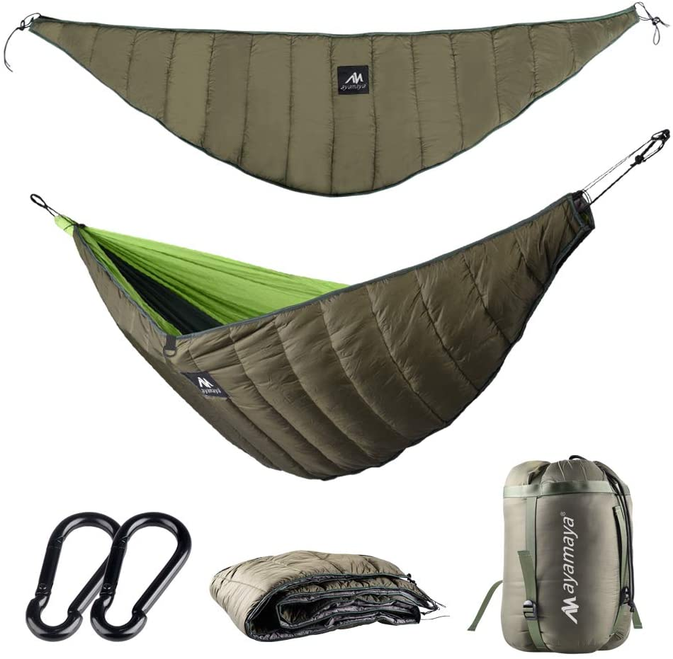 Lixada Multifunctional Outdoor Hammock Underquilt Lightweight Camping Quilt K0G6
