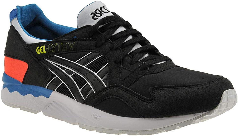 ASICS Gel -Lyte V män s skor 10 D (M) US svart -svart -Teal -röd
