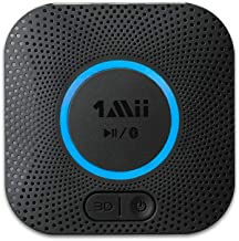 [Upgraded] 1Mii B06 Plus Bluetooth Receiver, HIFI Wireless Audio Adapter, Bluetooth 5.0 Receiver with 3D Surround aptX Low...
