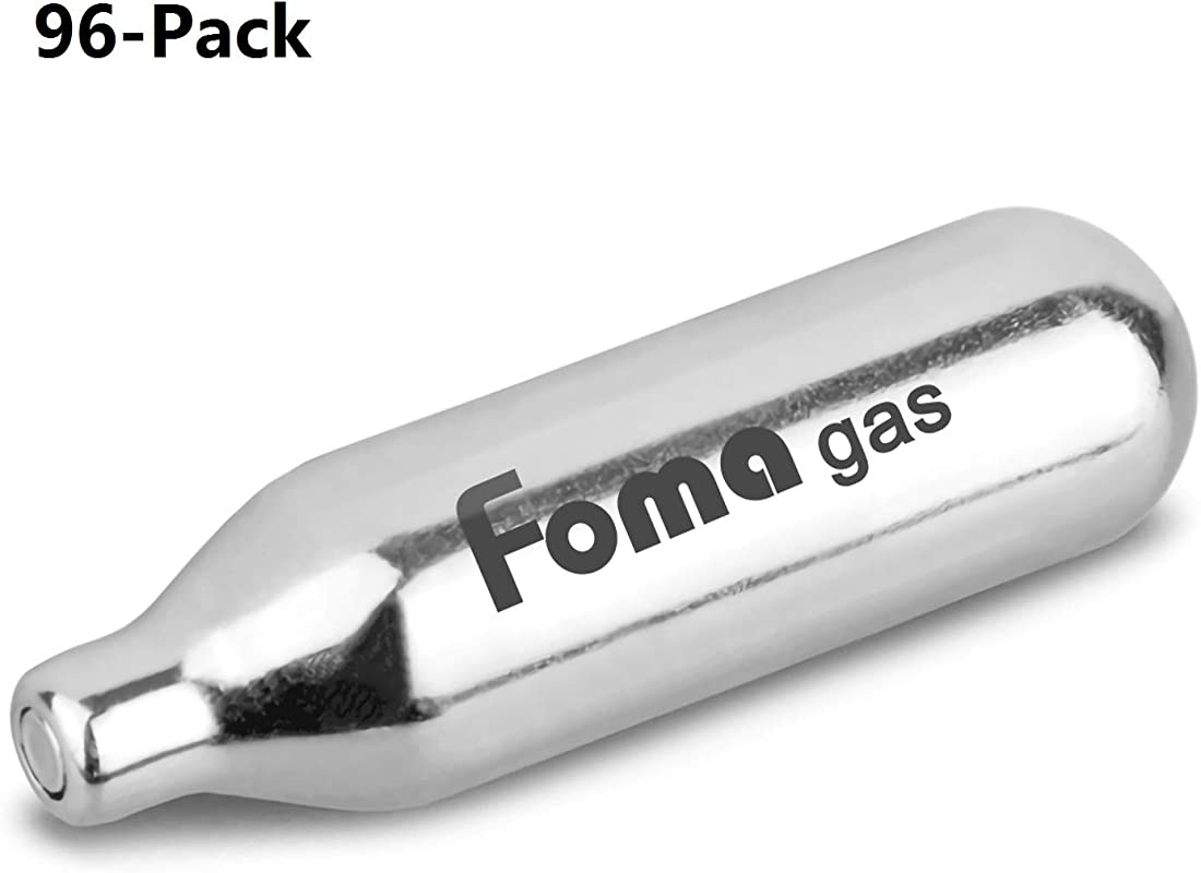 Whipped Cream Chargers Whip Cream Chargers N2O Chargers By Foma Gas 96 Packs