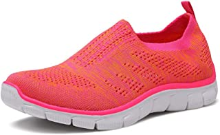 Skechers women's shoes elastic mesh breathable set of leisure comfortable walking shoes