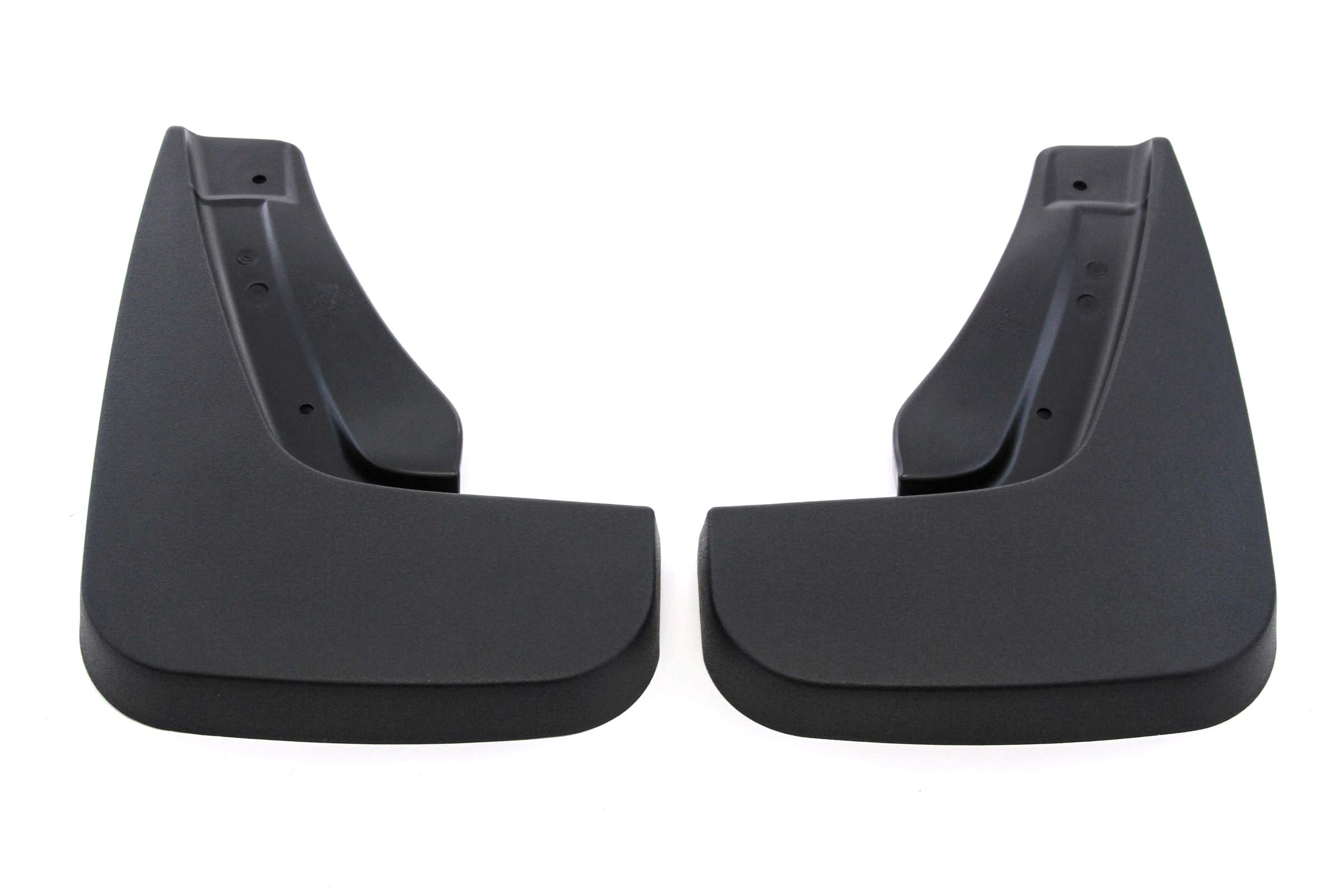 Red Hound Auto Rear Molded Mud Flaps Compatible with Dodge Durango 2011-2020 Select Models