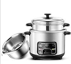 Cuisiniers à riz et bateau à vapeur, cuisinière à riz à nourriture électrique à ustère sans bâton, avec fonction de main-...