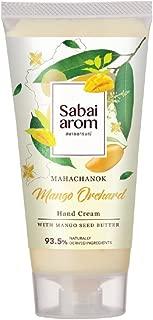 Sabai-arom Mango Orchard Hand Cream 75 g. (4 Pack)