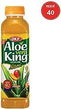 OKF Aloe Vera King Drink, Mango, 16.9 Fluid Ounce (Pack of 40)