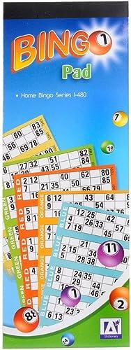 Anker International Stationary 1-480  Bingo-Pads, 16 Stück