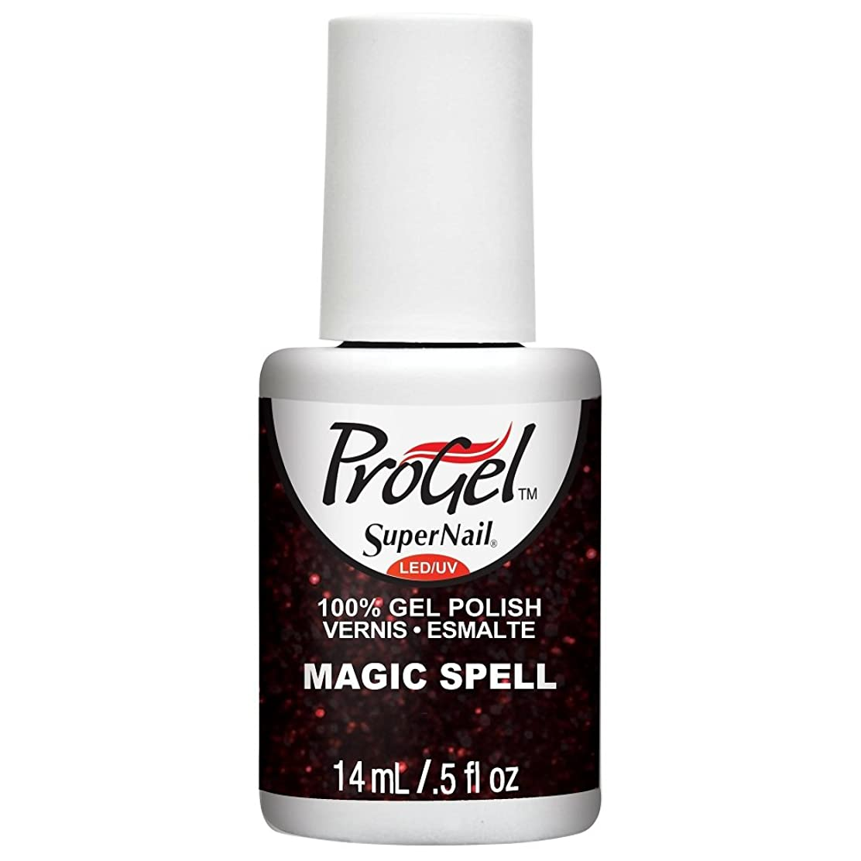 小数うそつき哀れなSuperNail ProGel Gel Polish - Magic Spell - 0.5oz / 14ml