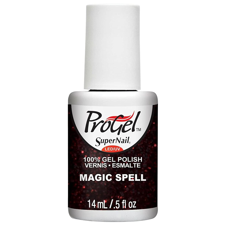 ルーチン隠されたに関してSuperNail ProGel Gel Polish - Magic Spell - 0.5oz / 14ml