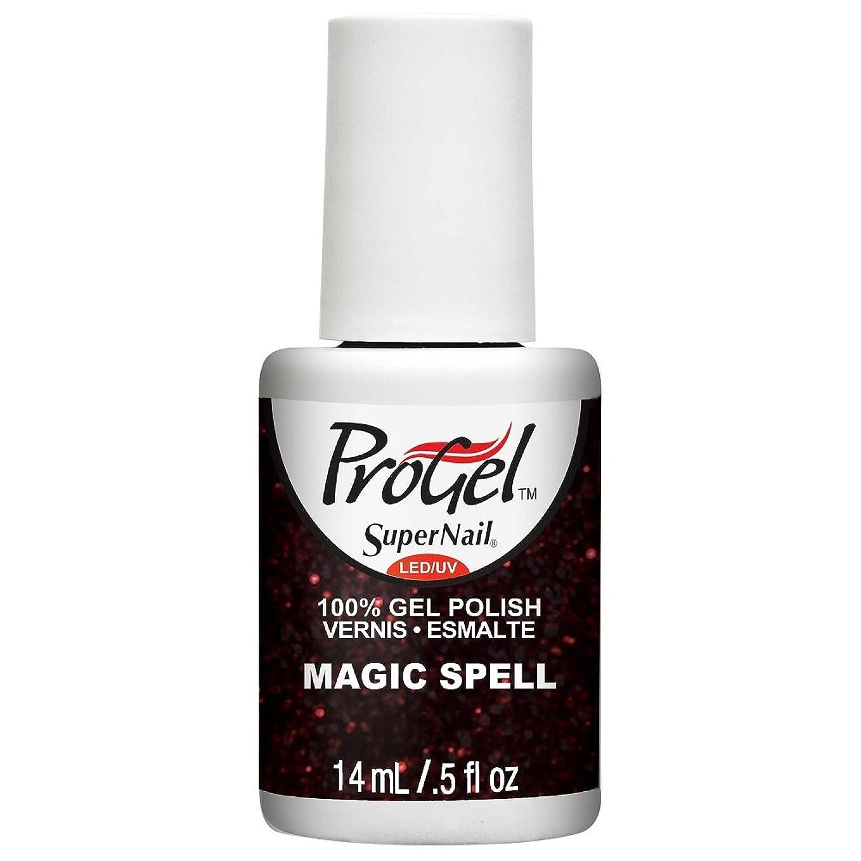 アミューズ湿原アシスタントSuperNail ProGel Gel Polish - Magic Spell - 0.5oz / 14ml