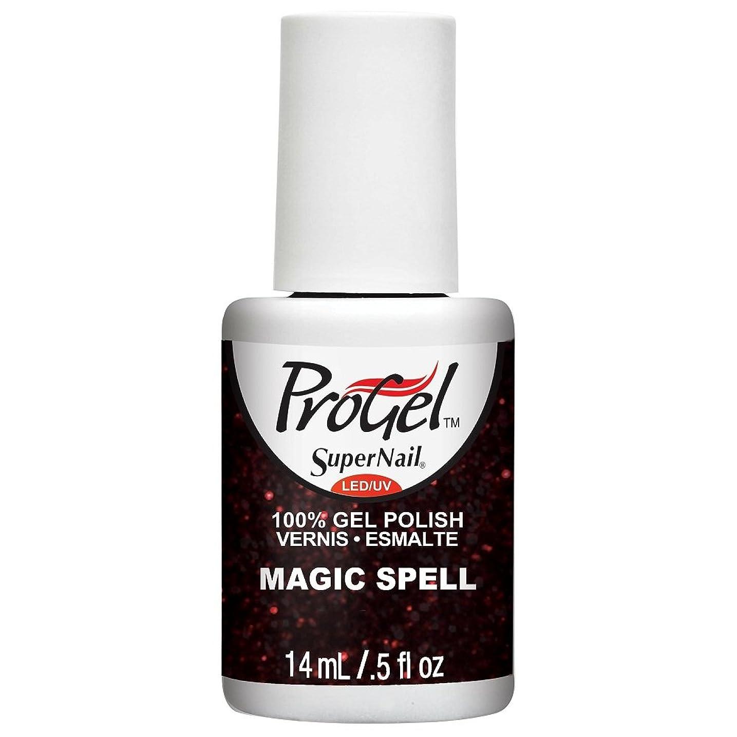 スペシャリスト中級仮定SuperNail ProGel Gel Polish - Magic Spell - 0.5oz / 14ml