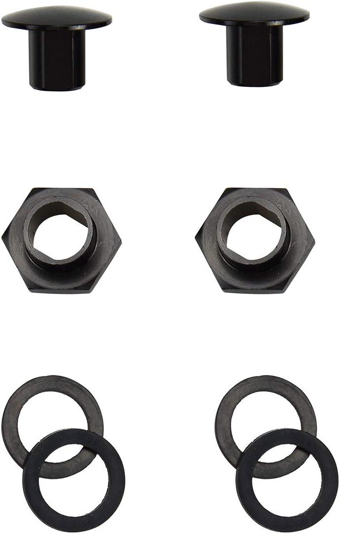 Tasan Racing Car Rear Glass Pillar Kit Rear Window Accessories Practical Portable Car Rear Glass Strut Hardware Kit A Black