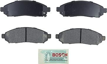 Bosch BE1094 Blue Disc Brake Pad Set for Nissan: 2005-15 Frontier, 2005-12 Pathfinder, 2005-15 Xterra; Suzuki: 2009-12 Equator - FRONT