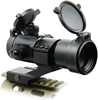 Hauska Visor óptico Punto Red Green propoint Punto Rojo Red Dot Sight 5 Niveles de Brillo Rifle de Aire Suave