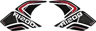BIKE label 800283 Seitentank Pad Carbon Stripes Red kompatibel für BMW R 1200 GS