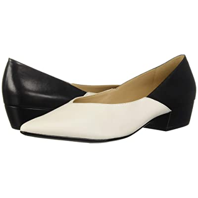 Naturalizer Betty (Alabaster Black Leather/Smooth) Women