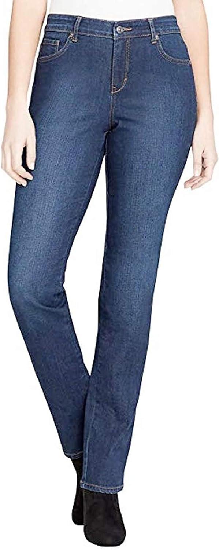 Gloria Vanderbilt Women's Rail Straight Jean Shipping Popular product included Leg