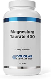 Douglas Laboratories - Magnesium Taurate 400 - Supports Normal Heart Function and Bone Formation* - 120 Tablets