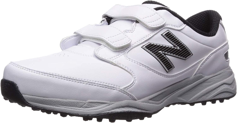 New Balance Men's CB'49 Hook and Loop Closure Waterproof Spikeless Comfort Golf Shoe