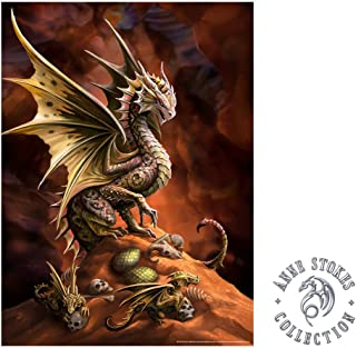 IT'S A SKIN Anne Stokes | Desert Dragon Wall Poster Officially Licensed Merchandise. Great Wall Art for Home Decor, Bedroom Decor, Kitchen Wall Decor, Room Decor.