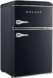 Galanz 3.1 cu ft Black Retro Mini Fridge