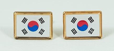 South Korea Flag Cufflinks