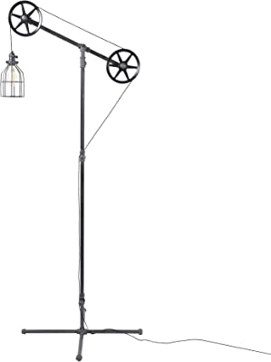 bridgeport designs Pulley Floor lamp - - Amazon.com