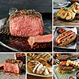 Omaha Steaks Family Value Combo (20-Piece with Filet Mignons, Top Sirloins, Boneless Chicken Breasts, Steak Burgers, Jumbo Franks, and Stuffed Baked Potatoes)