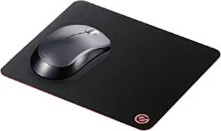 エレコム マウスパッド ゲーミング 250mm×210mm 中目 裏赤 MP-ECG01BK