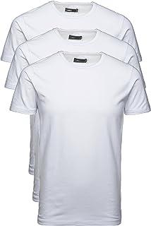 JACK & JONES 12058529 Men's T-Shirt Pack of 3 Basic Crew Neck Tee