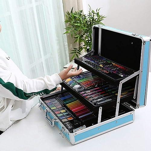 Las ventas en línea ahorran un 70%. Lápiz Lápiz Lápiz para Colorar conjunto de arte Juego de arte para Niños de 158 piezas Juego de lápices de Colors Suministros de dibujo Kit de herramientas para adolescentes Niños Art set de regalo para Niños y  ganancia cero