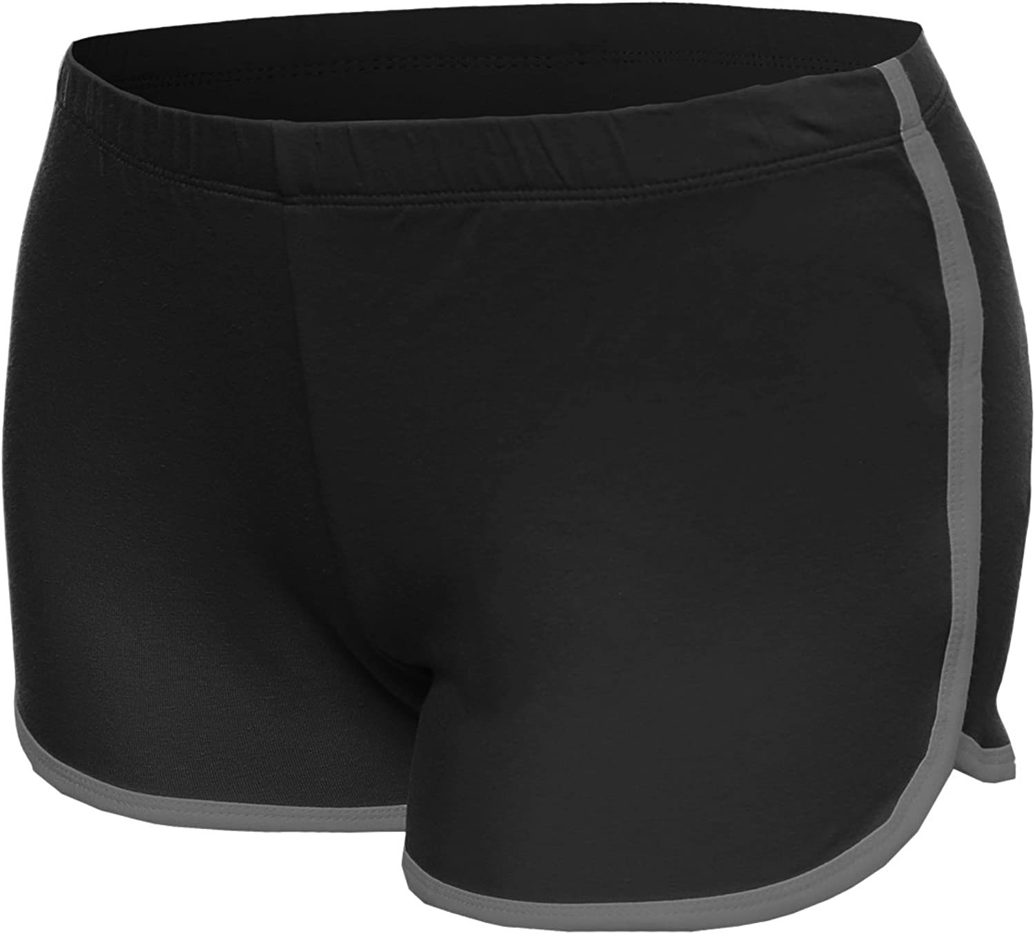 Made by Emma MBE Women's Basic Athletic Sport Cotton Shorts in