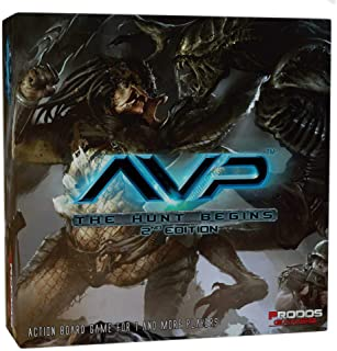 avp the hunt begins 2nd edition expansion